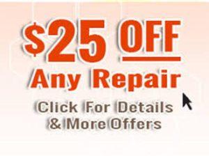 Heating Repair Discount