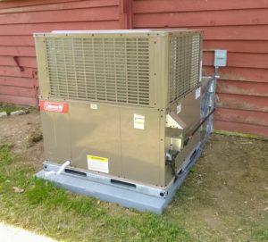 Coleman 16 SEER Gas Package Unit